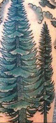 фото тату сосна от 31.07.2018 №120 – tattoo pine – tatufoto.com
