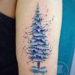 фото тату сосна от 31.07.2018 №148 - tattoo pine - tatufoto.com