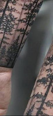 фото тату сосна от 31.07.2018 №149 – tattoo pine – tatufoto.com