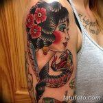 Фото Женские тату 25.08.2018 №045 - Women's Tattoo - tatufoto.com