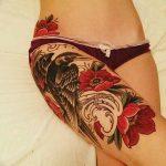 Фото Женские тату 25.08.2018 №177 - Women's Tattoo - tatufoto.com