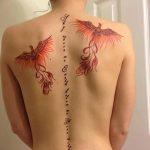 Фото Женские тату 25.08.2018 №199 - Women's Tattoo - tatufoto.com