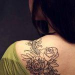 Фото Женские тату 25.08.2018 №205 - Women's Tattoo - tatufoto.com