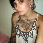 Фото Женские тату 25.08.2018 №211 - Women's Tattoo - tatufoto.com