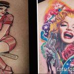 Фото Женские тату 25.08.2018 №394 - Women's Tattoo - tatufoto.com