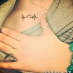 Фото Женские тату 25.08.2018 №425 - Women's Tattoo - tatufoto.com