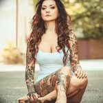 Фото Женские тату 25.08.2018 №455 - Women's Tattoo - tatufoto.com