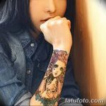 Фото Женские тату 25.08.2018 №546 - Women's Tattoo - tatufoto.com
