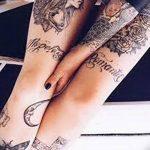 Фото Женские тату 25.08.2018 №564 - Women's Tattoo - tatufoto.com