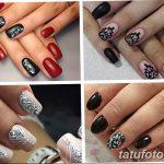Фото Мехенди на ногтях от 04.08.2018 №004 - Mehendi on the nails - tatufoto.com