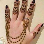 Фото Мехенди на ногтях от 04.08.2018 №009 - Mehendi on the nails - tatufoto.com