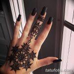 Фото Мехенди на ногтях от 04.08.2018 №011 - Mehendi on the nails - tatufoto.com