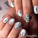 Фото Мехенди на ногтях от 04.08.2018 №020 - Mehendi on the nails - tatufoto.com