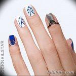 Фото Мехенди на ногтях от 04.08.2018 №021 - Mehendi on the nails - tatufoto.com