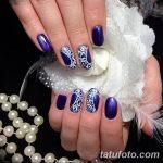 Фото Мехенди на ногтях от 04.08.2018 №022 - Mehendi on the nails - tatufoto.com