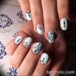 Фото Мехенди на ногтях от 04.08.2018 №023 - Mehendi on the nails - tatufoto.com