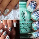 Фото Мехенди на ногтях от 04.08.2018 №024 - Mehendi on the nails - tatufoto.com
