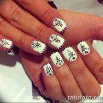 Фото Мехенди на ногтях от 04.08.2018 №026 - Mehendi on the nails - tatufoto.com