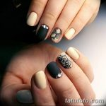 Фото Мехенди на ногтях от 04.08.2018 №027 - Mehendi on the nails - tatufoto.com