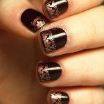 Фото Мехенди на ногтях от 04.08.2018 №029 - Mehendi on the nails - tatufoto.com