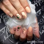 Фото Мехенди на ногтях от 04.08.2018 №032 - Mehendi on the nails - tatufoto.com