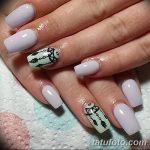 Фото Мехенди на ногтях от 04.08.2018 №033 - Mehendi on the nails - tatufoto.com