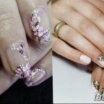 Фото Мехенди на ногтях от 04.08.2018 №034 - Mehendi on the nails - tatufoto.com