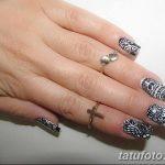 Фото Мехенди на ногтях от 04.08.2018 №035 - Mehendi on the nails - tatufoto.com