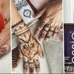 Фото Мехенди на ногтях от 04.08.2018 №041 - Mehendi on the nails - tatufoto.com