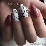 Фото Мехенди на ногтях от 04.08.2018 №042 - Mehendi on the nails - tatufoto.com