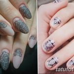 Фото Мехенди на ногтях от 04.08.2018 №044 - Mehendi on the nails - tatufoto.com