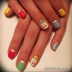 Фото Мехенди на ногтях от 04.08.2018 №045 - Mehendi on the nails - tatufoto.com