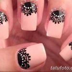 Фото Мехенди на ногтях от 04.08.2018 №046 - Mehendi on the nails - tatufoto.com