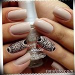 Фото Мехенди на ногтях от 04.08.2018 №047 - Mehendi on the nails - tatufoto.com