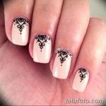 Фото Мехенди на ногтях от 04.08.2018 №048 - Mehendi on the nails - tatufoto.com