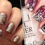 Фото Мехенди на ногтях от 04.08.2018 №053 - Mehendi on the nails - tatufoto.com