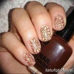 Фото Мехенди на ногтях от 04.08.2018 №055 - Mehendi on the nails - tatufoto.com