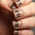Фото Мехенди на ногтях от 04.08.2018 №062 - Mehendi on the nails - tatufoto.com
