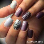 Фото Мехенди на ногтях от 04.08.2018 №065 - Mehendi on the nails - tatufoto.com