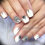 Фото Мехенди на ногтях от 04.08.2018 №069 - Mehendi on the nails - tatufoto.com