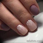 Фото Мехенди на ногтях от 04.08.2018 №070 - Mehendi on the nails - tatufoto.com