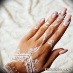 Фото Мехенди на ногтях от 04.08.2018 №071 - Mehendi on the nails - tatufoto.com