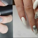 Фото Мехенди на ногтях от 04.08.2018 №074 - Mehendi on the nails - tatufoto.com