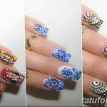 Фото Мехенди на ногтях от 04.08.2018 №077 - Mehendi on the nails - tatufoto.com