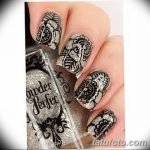 Фото Мехенди на ногтях от 04.08.2018 №083 - Mehendi on the nails - tatufoto.com