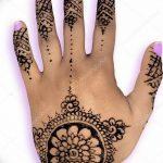 Фото Мехенди на ногтях от 04.08.2018 №087 - Mehendi on the nails - tatufoto.com