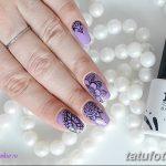 Фото Мехенди на ногтях от 04.08.2018 №090 - Mehendi on the nails - tatufoto.com