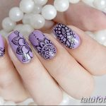 Фото Мехенди на ногтях от 04.08.2018 №091 - Mehendi on the nails - tatufoto.com