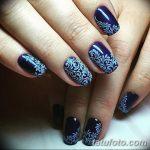 Фото Мехенди на ногтях от 04.08.2018 №092 - Mehendi on the nails - tatufoto.com