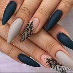 Фото Мехенди на ногтях от 04.08.2018 №097 - Mehendi on the nails - tatufoto.com
